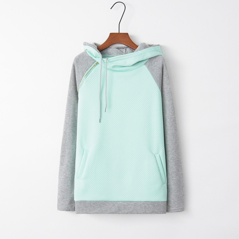 Patchwork Cross 2020 New Design Hot Sale Hoodies Sweatshirts Women Casual Kawaii Harajuku Sweat Girls European Tops Korean