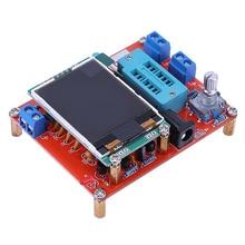 Multifunktionale Tester GM328 Transistor Tester Diode Kapazität ESR Spannung Frequenz Meter PWM Platz Welle Signal Generator