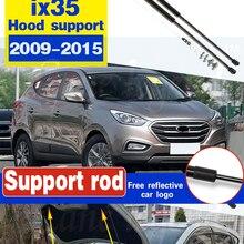 2 шт. автомобиль газ удар капюшон амортизатора Лифт Поддержка для Hyundai ix35 2009 - 2015 Поддержка ing гидравлические капюшон стойки стержень