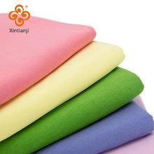60s malha algodão tecido elastano fino elástico camisa para o verão camiseta diy pano têxtil a0219