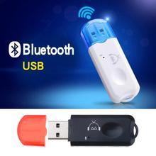 Nowy odbiornik USB AUX Bluetooth bezprzewodowy Adapter Audio Stereo z mikrofonem do odtwarzacza samochodowego USB odtwarzacz MP3 głośnik nadajnik Bluetooth tanie tanio CN (pochodzenie) 20kg USB Bluetooth 2 1 Receiver USB Bluetooth Music Receiver car bluetooth Music Player Bluetooth Car Kit