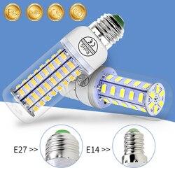 CanLing E27 LED Bulb 220V Ampoule Led E14 Bombillas Led Candle Lamp Corn SMD 5730 24 36 48 56 69 72LEDs Chandelier Home Lights