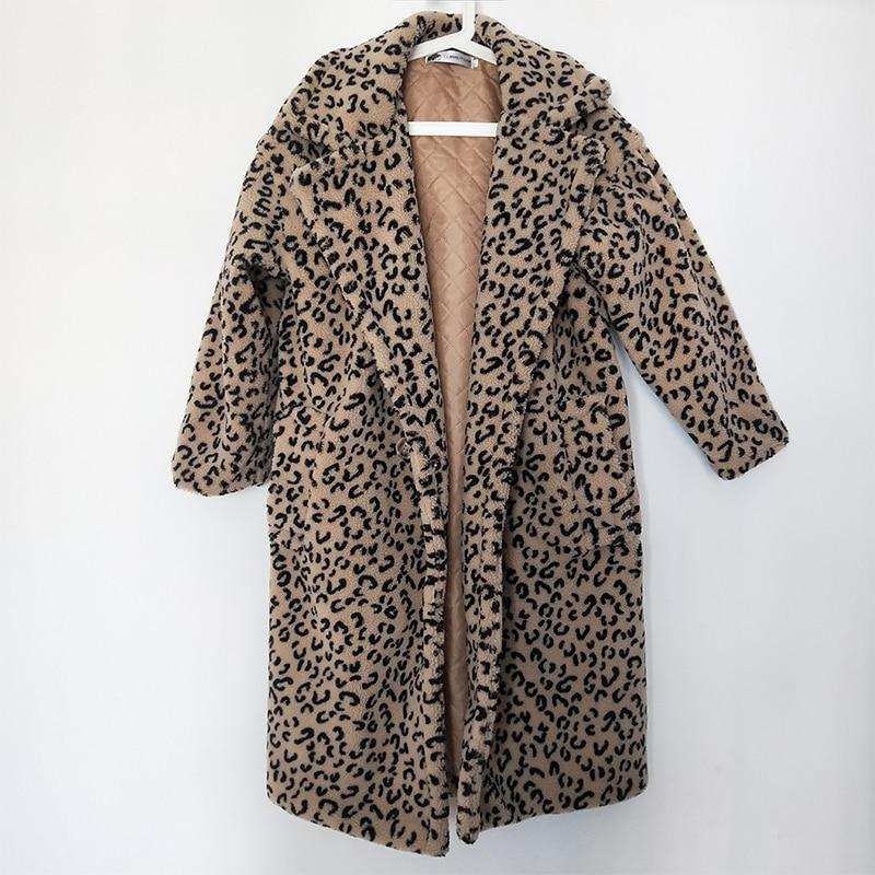 più Leopardo Cappotti Caldo 23