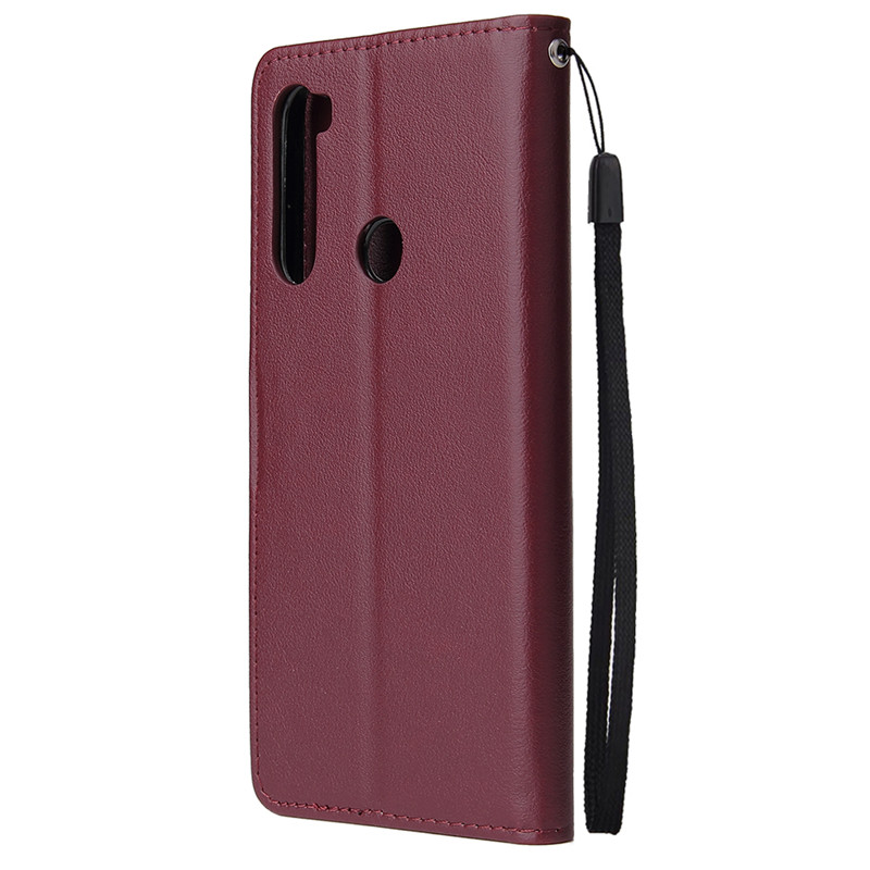 Leather Wallet Case Flip Cover for Xiaomi Redmi Note 8 7 6 5 4 Pro 8A7A 6A 5A 4X 5X 5 Plus Protect Cover 2