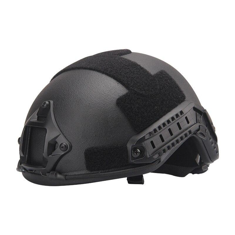 NIJ IIIA Aramid Military FAST Ballistic Combat Helmet US Standard For Training