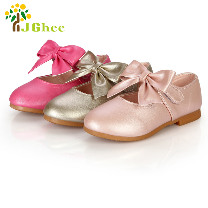 New Spring Summer Autumn Children Shoes Girls Shoes Princess Shoes Fashion Kids Single Shoes Bow-knot Casual Sneakers Flats