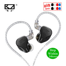 KZ DQ6 3DD In-ear Earphones HIFI Music Sport Headset with 2PIN CableKZ ZAX ZSX ASX ZS10 PRO AS12 AS16 ZSN PRO C12 DM7 AS06 v90s