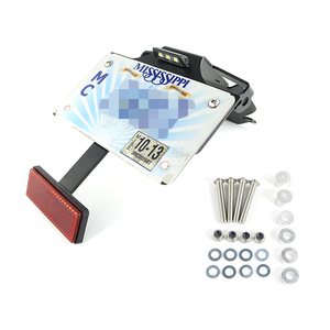 Image 4 - Apto para Ducati 1199 1299 Panigale 899 959 Panigale soporte para matrícula soporte trasero guardabarros limpio trasero eliminador de kit de aluminio