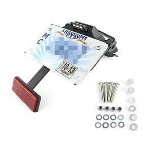 Для Ducati 1199 1299 Panigale 899 959 Panigale держатель номерного знака Кронштейн задний хвост Tidy Fender Eliminator комплект алюминиевый черный