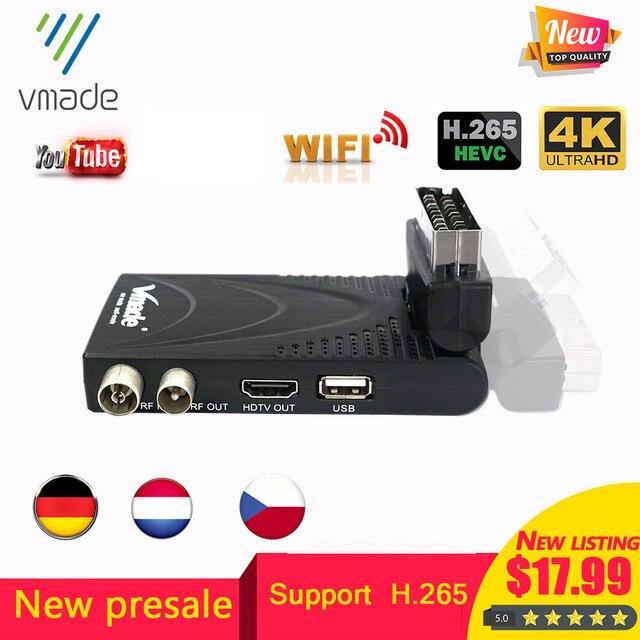 2020ใหม่ล่าสุดDVB T2ดิจิตอลDVB T2 H.265 DecoderสนับสนุนYoutube USB WIFI DVB T2 Terrestrial Receiver Hotขายสเปน