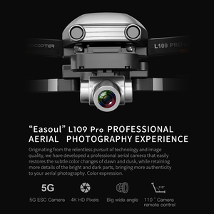 "Image 3 - L109 פרו GPS Drone 4K זום מצלמה שני ציר אנטי לנער יציב Gimbal 5G WIFI RC quadcopter מסוק מקצועי Selfie ""טים"