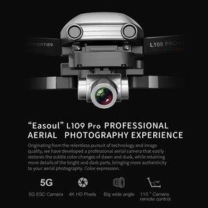 Image 3 - L109 PRO GPS Дрон 4K ZOOM камера двухосевая Антивибрационная стабильная Карданная 5G WIFI RC Квадрокоптер вертолет Профессиональный селфи Дрон