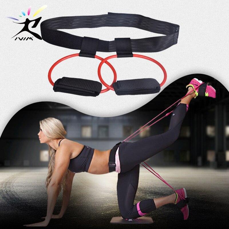 Cintura con fasce con resistenza di 90 kg Abilieauty per allenamento boxe e fitness esercizi di potenziamento gambe