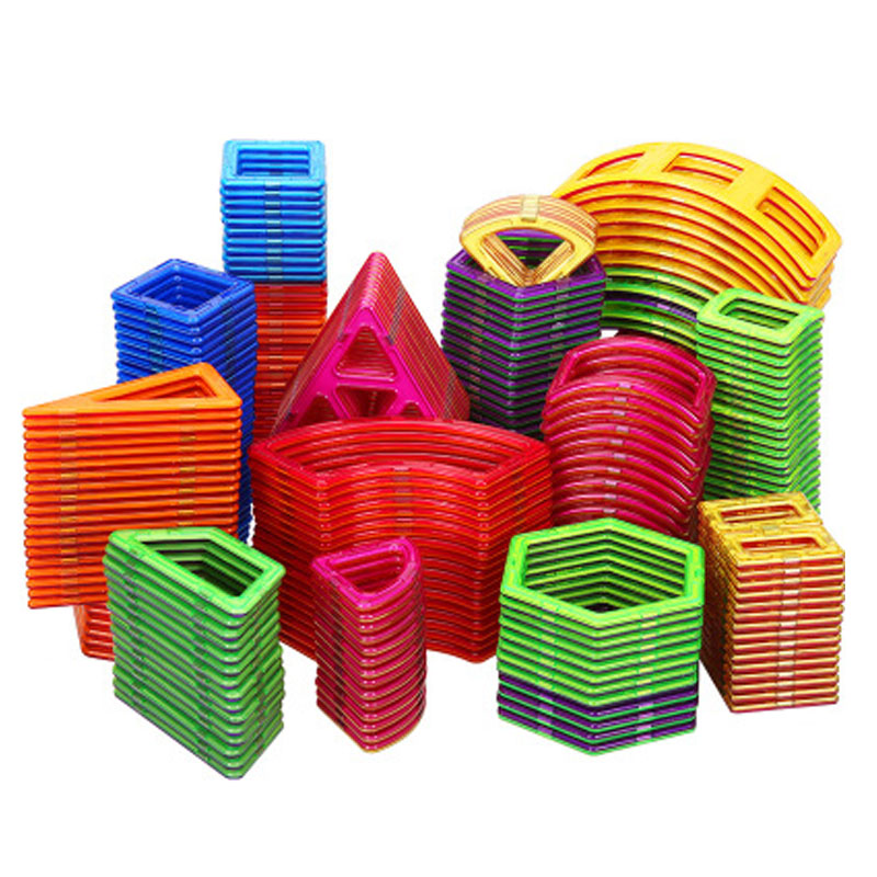 Big Size Magnetic Designer Construction Set Model & Building <font><b>Toy</b></font> Magnets Magnetic Blocks Educational <font><b>Toys</b></font> <font><b>For</b></font> <font><b>Children</b></font> image