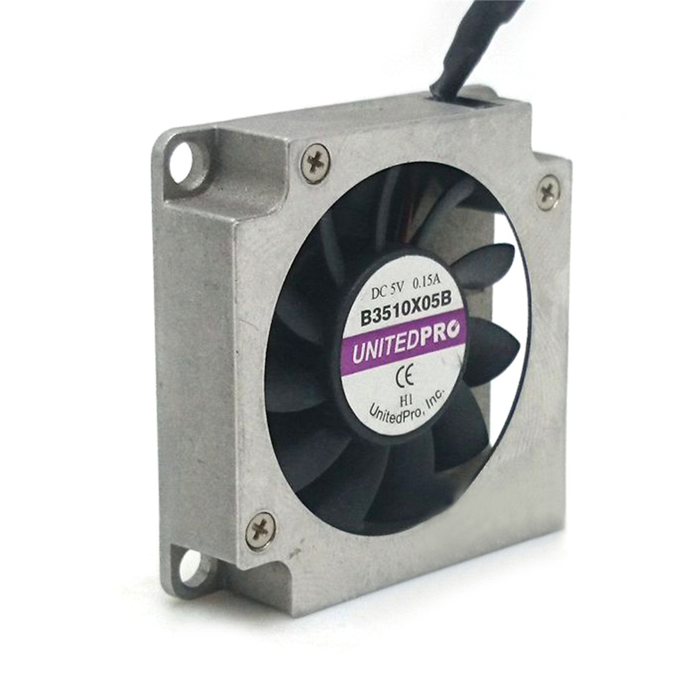 2pcs/4pcs UNITEDPRO Miniature Blowers Fans Main Board Cooling Fans B3510X05B 5V 0.15A 3.5cm Side Cooler
