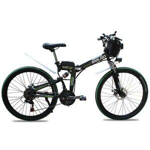 Image 3 - MX300 2019 New Design 350W/500W/750W/1000W 48V 10AH/13AH electric bicycle 26 inch folding electric bike with high quality