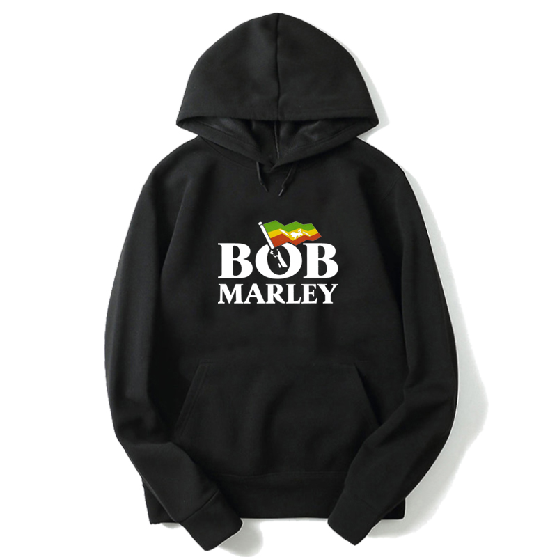 Bob Marley Long-sleeve Hoodies Autumn Women Men Sweatshirt  Harajuku 's Pullovers Tops Unisex Long Sleeve Hooded Sweatshirts
