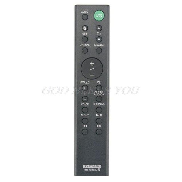 รีโมทคอนโทรล RMT AH103U สำหรับ Sony HT CT80 SA CT80 Soundbar ระบบ Drop Shipping