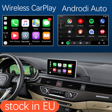 أبل اللاسلكية CarPlay أندرويد واجهة السيارات لأودي A4 A5 2016 2019 ، مع ميرورلينك AirPlay سيارة اللعب USB HDMI وظائف