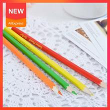 Color Pencil Short 12 Colors Children's Environmentally Painting Stationery Drawing Friendly School Pencil Office Accessori Y7C7