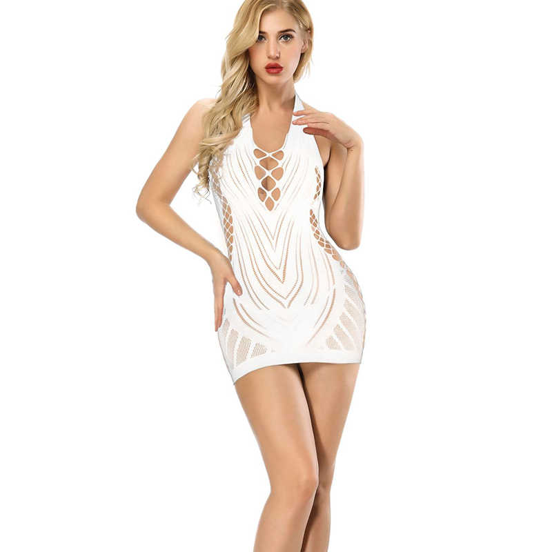 2020 Sexy Lace Seethrough bodysuits Coveralls High Quality Stretch Fabric Nightwear Top sale Hot Women Hollow out Body Lingerie