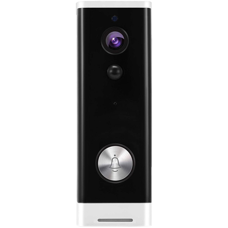 Wireless Video Doorbell Camera  720P HD WiFi Security Camera with Real Time Video  Two Way Talk Batteries Included|Doorbell| |  - title=