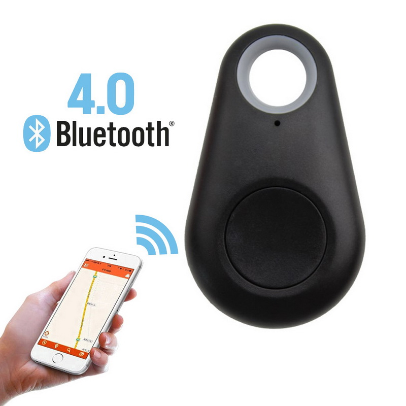 Mini Smart Bluetooth Tracer GPS Locator Alarm Wallet Finder Key Keychain Pet Dog Tracker Child Carphon Phone Anti Lost Remind