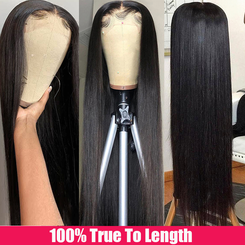 Beaudiva Hair 13x4x1 T Part Lace Wig  Straight Lace Wig 150 Density PrePlucked Straight Lace Front  Wigs 4