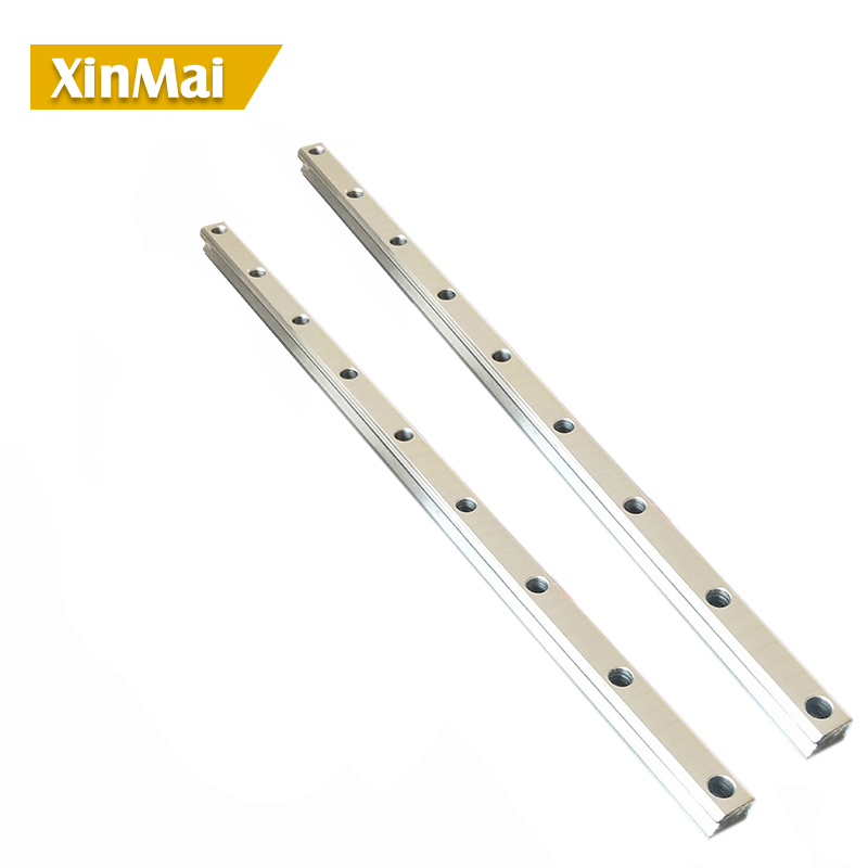 2pc 100 -1150mm HGR15 HGR20 HGR25 HGR30 Square Linear Guide Rail for HIWIN Slide Block Carriages HGH20CA CNC Router Engraving