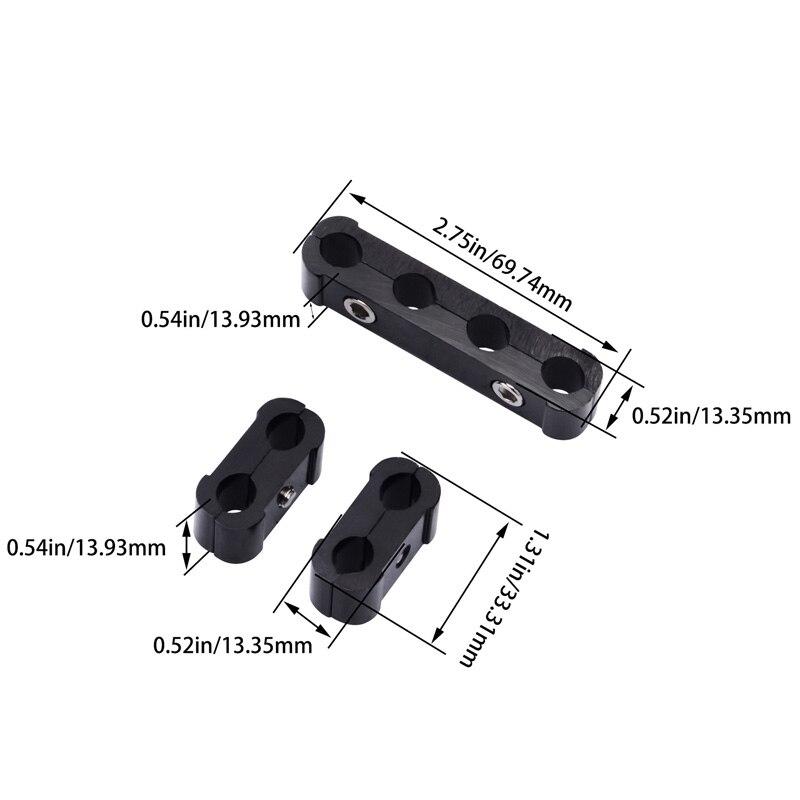 Автомобильные свечи зажигания Клещи для электропровода сепаратор линия кабель зажигания Клип Авто украшения 3 шт. для 8 мм/9 мм/10 мм автомобильные аксессуары