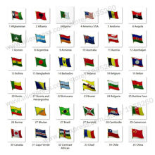 National Flag Metal Lapel Pin Badge All Over the World USA Australia Austria Belarus Belgium Brazil Canada Chile China