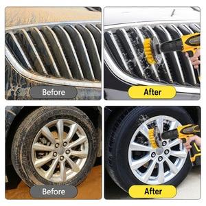 Image 5 - 3ピース/セット電気スクラバーブラシドリルブラシキットプラスチックラウンドクリーニングブラシ用ガラス車のタイヤナイロンブラシ2/3。5/4