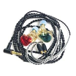 Image 5 - DIY 1DD Custom Made MMCX Noise Canceling Earphone Headphone Replaceable Headset MMCX Cable for Shure SE215 SE535 SE846