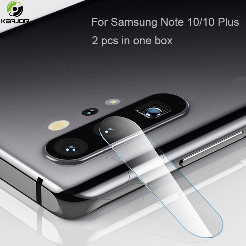 2pcs Tempered Glass For Samsung Galaxy Note 10 Plus Camera Protective Glass Phone Lens Screen Protector For Samsung Note 10 Film