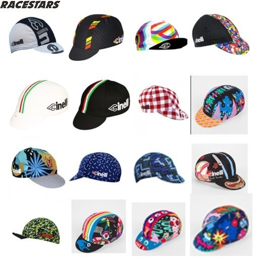 NEW Cinelli Cycling Caps Men And Women BIKE Wear Cap/Cycling Hats Choose From 12 Styles