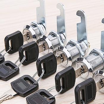 Zamki do szuflad z 2 blokada klawiszy sprzęt meblowy drzwi zamek meblowy do szafki na biurko skrzynka na listy zamki camlock 16mm 20mm 25mm 30mm tanie i dobre opinie NONE CN (pochodzenie) other Cabinet Lock
