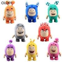 OLOEY 1PC 18cm 2020 neue Oddbods Cartoon Sicherung Jeff Newt Odd ZEE Bods Kuscheltiere Plüsch Spielzeug Puppe plüsch Spielzeug Weiche Angefüllte Spielzeug