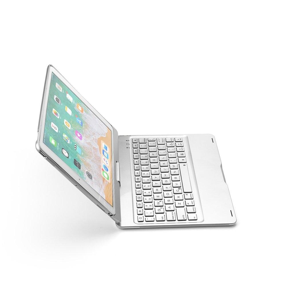 PU cuir universel 9.7 pouces support tablette clavier housse 360 rotatif clavier pour Ipad ordinateur portable