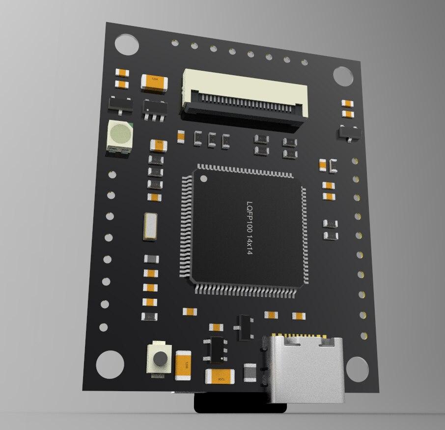 Compatível openmv4p plus estender sram 32m grande memória stm32h7 ov5640 1080p