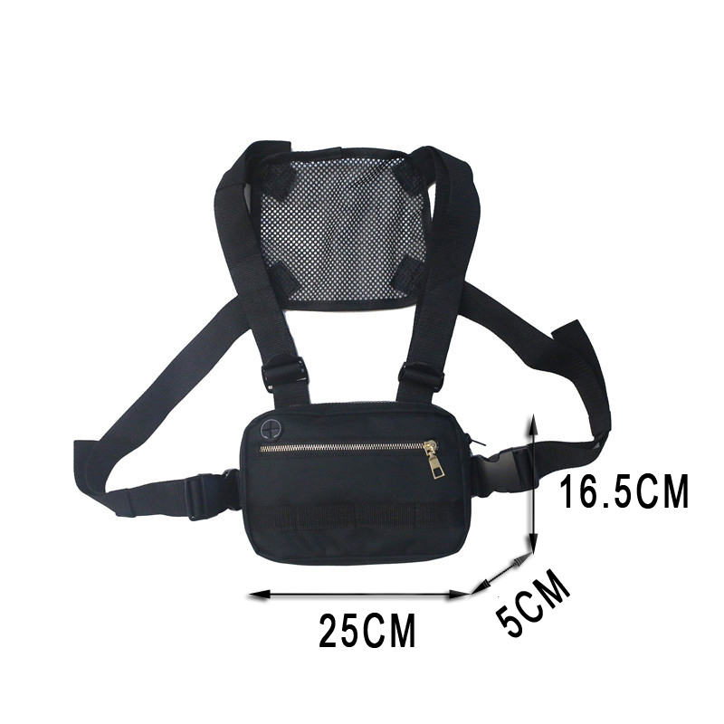 H4754cbee15694e7fbb74bdd33aa40666U - Small Chest Rig Men Bag Trendy Tactical Outdoor Streetwear Strap Vest Chest Bags For Women External Hook Sport Chest Pocke G176