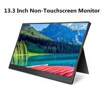 Elecrow LCD Monitor 13.3 inch Portable USB C Display 1920*1080P HDMI Type C Design Screen for Raspberry Pi Non touchscreen