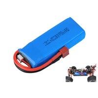 1 / 2 / 5 uds actualización 7,4 V 3000mAh batería de Lipo de 2S para Wltoys 144001 124018 124019 coche Rc R/C camión repuestos espaà a