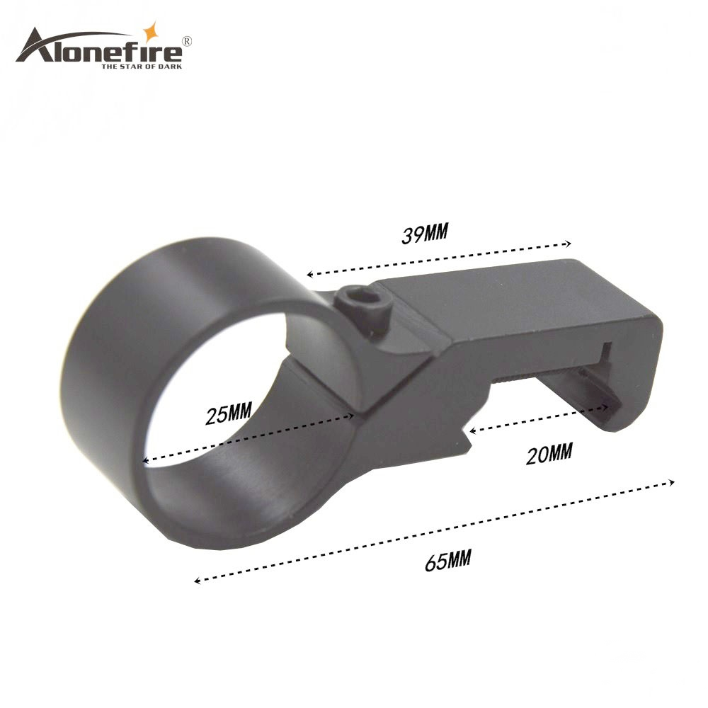 Alonefire T2010 20mm Scope Bases Outdoor Camping Hunting Tool Optical Sight Laser Bracket Metal Rifle Scope Mount Ring 25.4mm