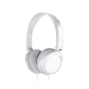 Image 5 - 2019 nowe słuchawki przewodowe 3.5mm okrągły interfejs z mikrofonem na ucho składane słuchawki Bass HiFi Sound muzyczne słuchawki stereo