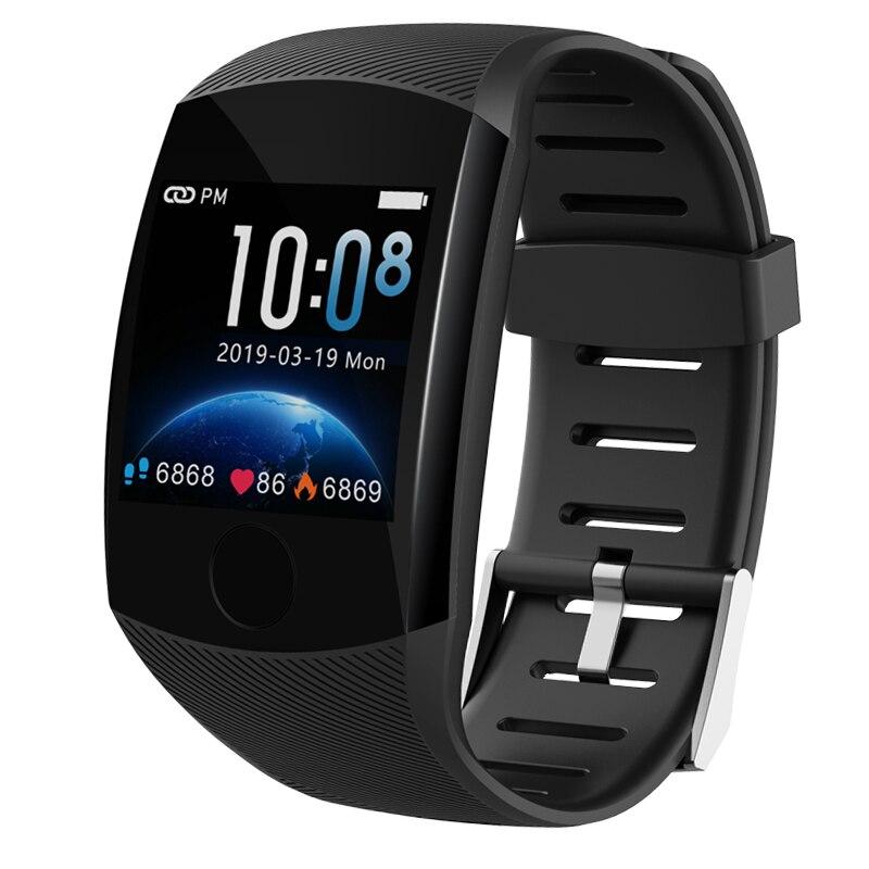 LIGE 2019 Novos Homens relógio Inteligente monitor de pressão Arterial e freqüência cardíaca Rastreador De Fitness Esportes Banda Reloj Smartwatch inteligente inteligente