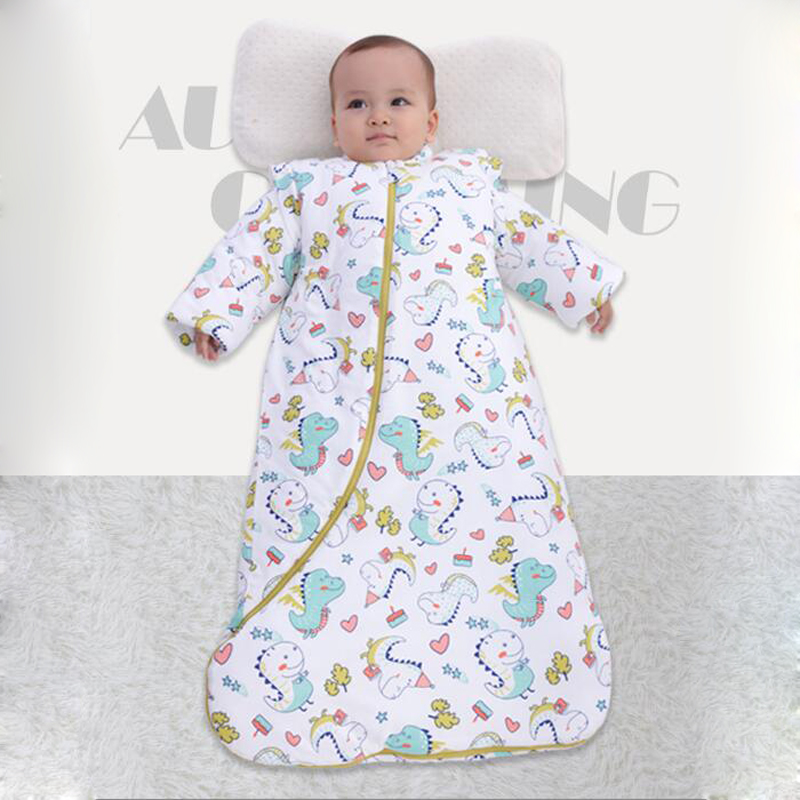 Spring Winter Newborn Envelope Baby Sleeping Bag Infant Sleep Sack Children Bedding Warm Toddler Wrap Swaddle Blanket Cotton Kid