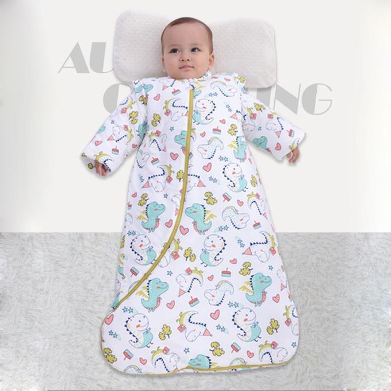 Spring Winter Newborn Envelope Baby Sleeping Bag Infant Sleep Sack Children Bedding Warm Toddler Wrap Swaddle Blanket Cotton Kid