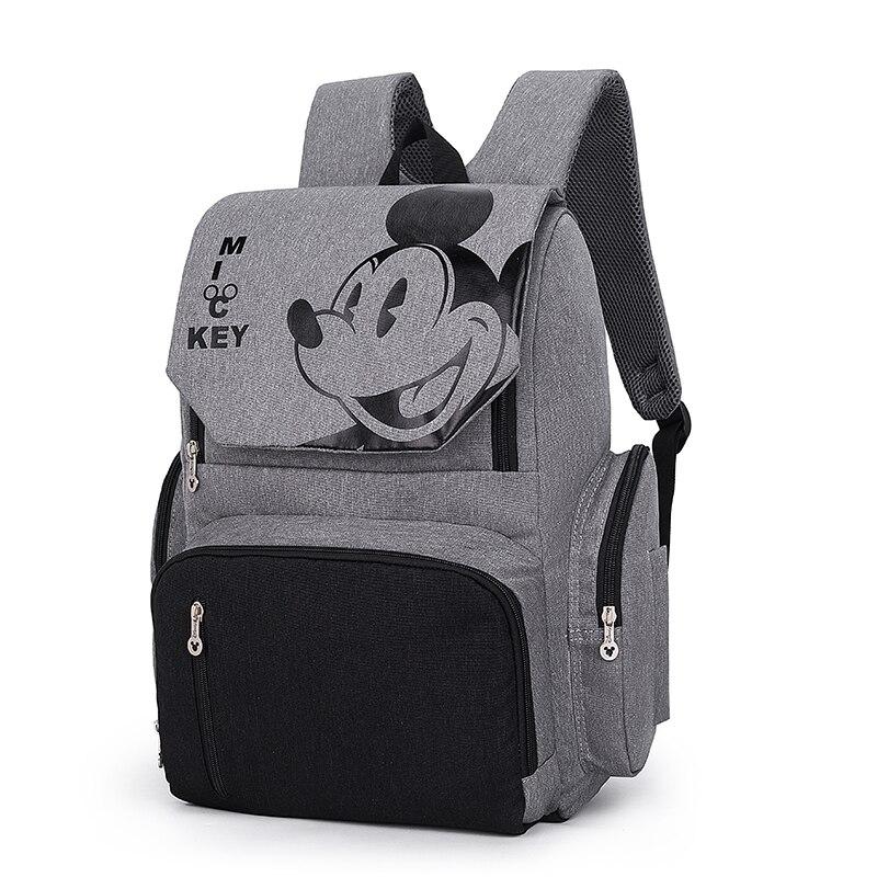Sac à couches Disney pour bébé   Sac à dos pour maman, sac de maternité multifonction, sac à couches pour maman, sac poussette de grande capacité