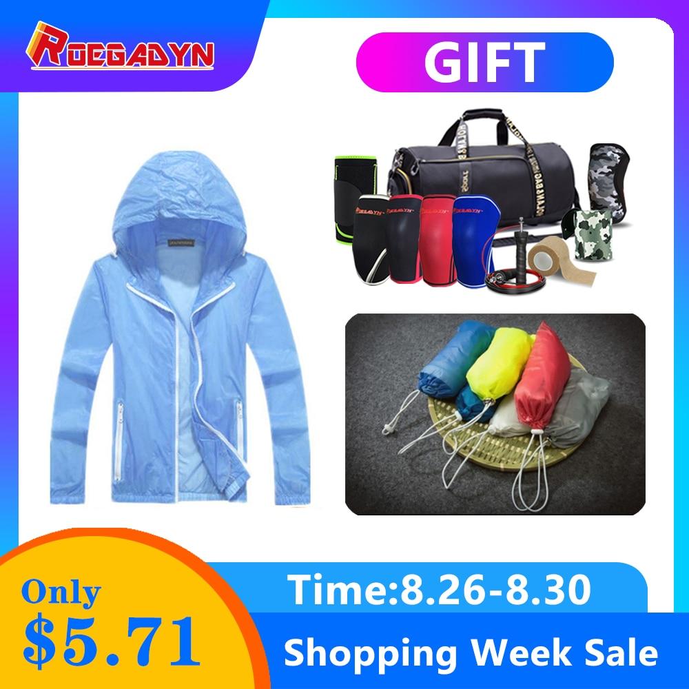 Sports-Coat Jacket Hoodie Ultra-Light Rainproof Windkicker Quick-Dry Women Outdoor