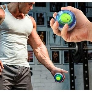 Укрепить сила запястья гироскоп со светодиодом шарик мощный мяч для запястья тренажер Сила запястья тренажер для расслабления мышц всего Фитнес мяч Кистевые эспандеры      АлиЭкспресс